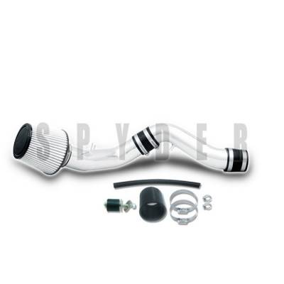 Spyder - Hyundai Tiburon Spyder Cold Air Intake with Filter - Polish - CP-521P