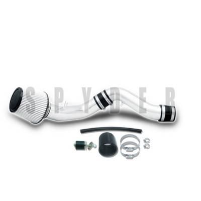 Spyder - Hyundai Tiburon Spyder Cold Air Intake with Filter - Polish - CP-521P