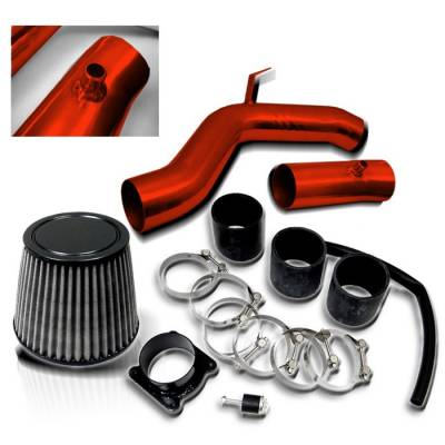 Spyder - Nissan Maxima Spyder Cold Air Intake - Red - CP-533R