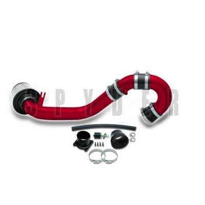 Spyder - Nissan Altima Spyder Cold Air Intake with Filter - Red - CP-546R