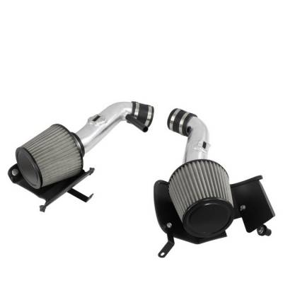 Spyder - Nissan 350Z Spyder Cold Air Intake with Filter - Polish - CP-677P