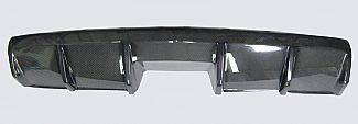 Street Scene - Chevrolet Camaro Street Scene Rear Valance with Center Mount Exhaust - Carbon Fiber - 950-70242