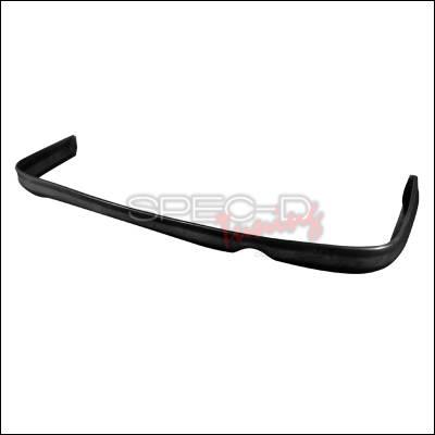 Spec-D - Honda Civic 2DR & 4DR Spec-D Type R Style Rear Lip - Polyurethane - LPR-CV964T-PU
