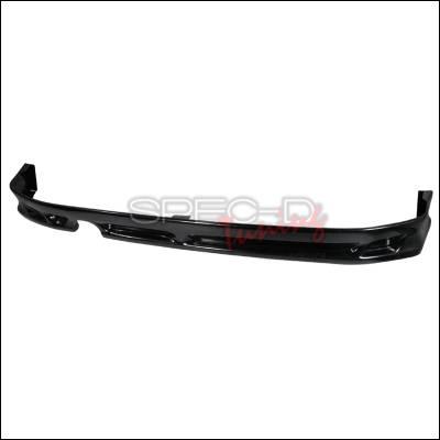Spec-D - Scion xB Spec-D ABS Plastic Rear Lip - LPR-XB03-ABS