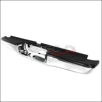 Spec-D - Toyota Tacoma Spec-D Rear Bumper Step - Chrome - SRB-TAC95CR-FS