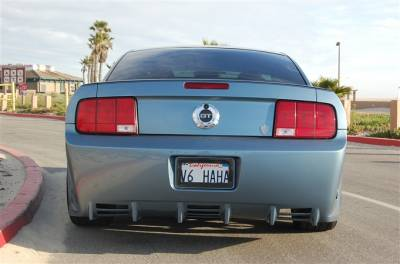 TruFiber - Ford Mustang TruFiber T-1 CXT Rear Bumper TF10024-CXS1