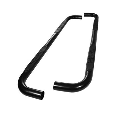 Spyder - Ford F150 Spyder 3 Inch Round Side Step Bar- Powder Coated Black - SSB-FF-A07S0502H-BK