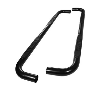 Spyder - Ford F150 Spyder 3 Inch Round Side Step Bar- Powder Coated Black - SSB-FF-A07S0503H-BK