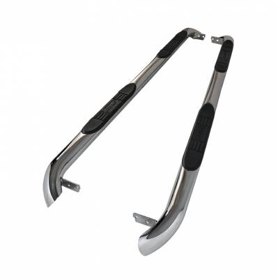 Spyder Auto - Land Rover Discovery Spyder 3 Inch Round Side Step Bar - Polished T-304 Stainless Steel - SSB-LR3-A07S2002