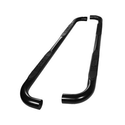 Spyder - Toyota Highlander Spyder 3 Inch Round Side Step Bar- Powder Coated Black - SSB-TH-A07S1020-BK