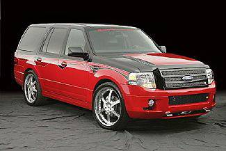 Street Scene - Ford Expedition Street Scene Generation 2 Side Skirts - 950-70837