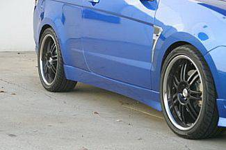 Street Scene - Ford Focus Street Scene Fiberglass Side Skirt Kit - 2PC - 950-70891