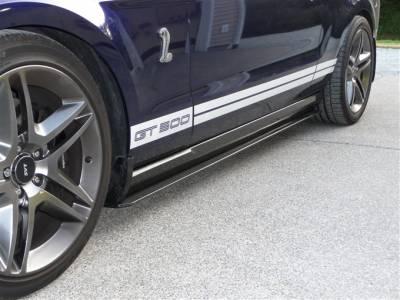 TruFiber - Ford Mustang TruFiber Carbon Fiber LG37 Side Skirts TC10025-LG37