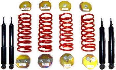 Strutmasters - Land Rover Range Rover Strutmasters Coil Spring with Shocks 4 Wheel Conversion Kit - RR-1-4S