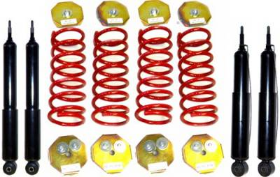 Strutmasters - Land Rover Range Rover Strutmasters Coil Spring 4 Wheel Conversion Kit with shocks - RR-2-4S