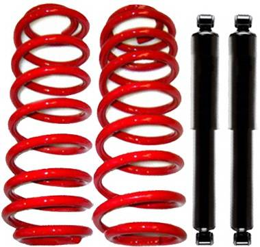 Strutmasters - Lincoln Navigator Strutmasters Rear Coil Spring Conversion Kit with Rear Shocks - XN24-R1-RS