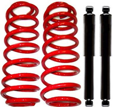 Strutmasters - Lincoln Navigator Strutmasters Rear Coil Spring Conversion Kit with Shocks - XN44-R1-S