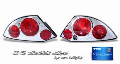 TYC - TYC Chrome Euro Taillights - 81527302