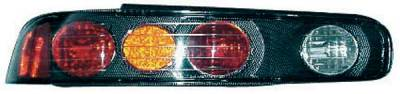 TYC - TYC Euro Taillights with Carbon Fiber Housing - 81529331