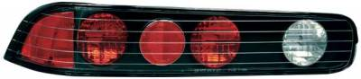 TYC - TYC Euro Taillights with Black Housing - 81529341