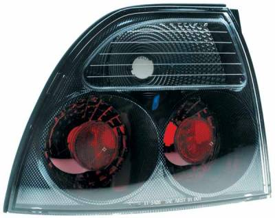 TYC - TYC Euro Taillights with Carbon Fiber Housing - 81540731