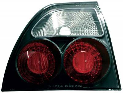 TYC - TYC Euro Taillights with Black Housing - 81540741