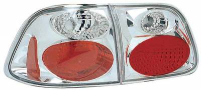 TYC - TYC Clear Euro Taillights - 81541101