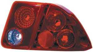 TYC - TYC Red Euro Taillights - 81541301