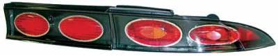 TYC - TYC Euro Taillights with Carbon Fiber Housing - 81542131