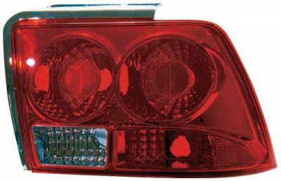 TYC - TYC Red Euro Taillights - 81545301