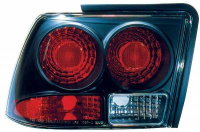 TYC - TYC Euro Taillights with Black Housing - 81545341