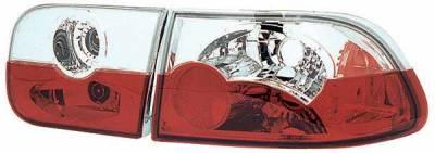 TYC - TYC Clear Euro Taillights - 81551501