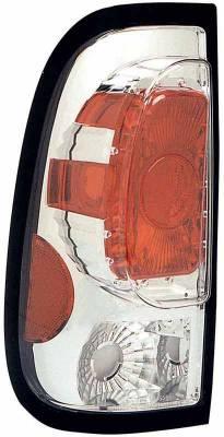 TYC - TYC Chrome Euro Taillights - 81554301