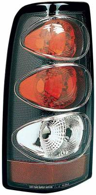 TYC - TYC Euro Taillights with Carbon Fiber Housing - 81554532