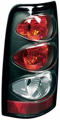 TYC - TYC Euro Taillights with Black Housing - 81554541