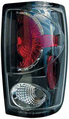 TYC - TYC Euro Taillights with Carbon Fiber Housing - 81555131