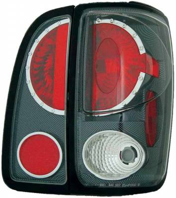 TYC - TYC Euro Taillights with Carbon Fiber Housing - 81555132