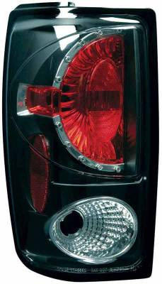 TYC - TYC Euro Taillights with Black Housing - 81555141