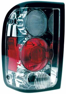 TYC - TYC Chrome Euro Taillights - 81555302