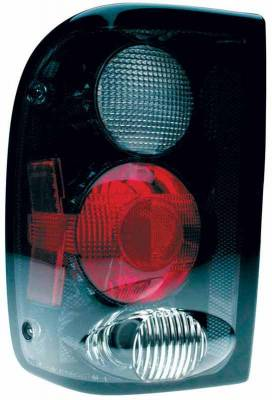 TYC - TYC Euro Taillights with Carbon Fiber Housing - 81555332
