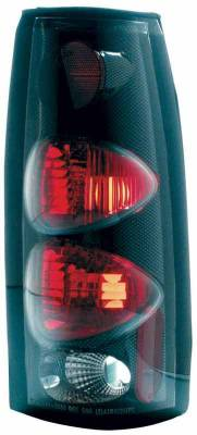 TYC - TYC Euro Taillights with Carbon Fiber Housing - 81555531