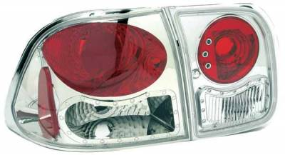 TYC - TYC Clear Euro Taillights - 81555901
