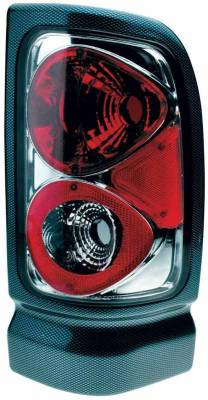 TYC - TYC Euro Taillights with Carbon Fiber Housing - 81560931
