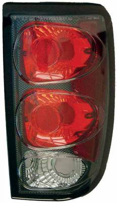 TYC - TYC Euro Taillights with Carbon Fiber Housing - 81561131