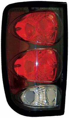 TYC - TYC Euro Taillights with Black Housing - 81561141