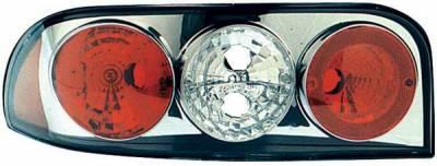 TYC - TYC Chrome Euro Taillights - 81565901