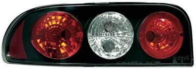 TYC - TYC Euro Taillights with Black Housing - 81565941