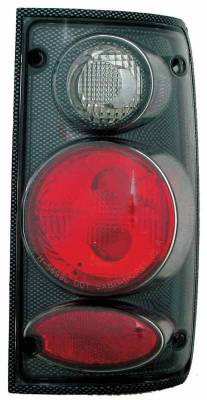 TYC - TYC Euro Taillights with Carbon Fiber Housing - 81569930
