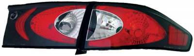 TYC - TYC Euro Taillights with Black Housing - 81580541