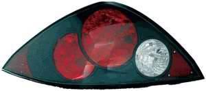 TYC - TYC Black LED Euro Taillights - 81580740